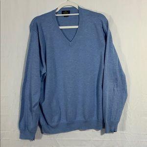 Brooks Brothers men's Vneck long sleeve sweater